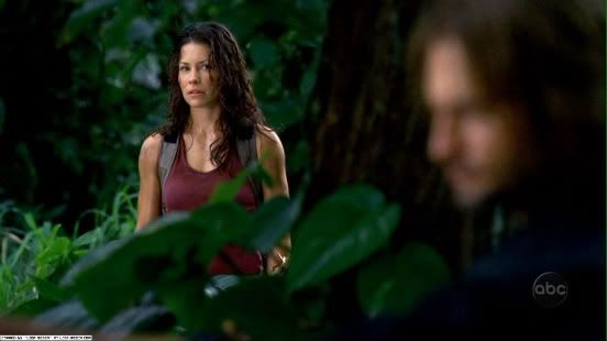"1.16 ""Outlaws"" – Kate was there to witness the moment when Sawyer let escape the boar he'd gone into the jungle to hunt. She didn't know exactly what she was seeing when it happened, had no idea yet of the thing that was haunting Sawyer, but she could not look away."