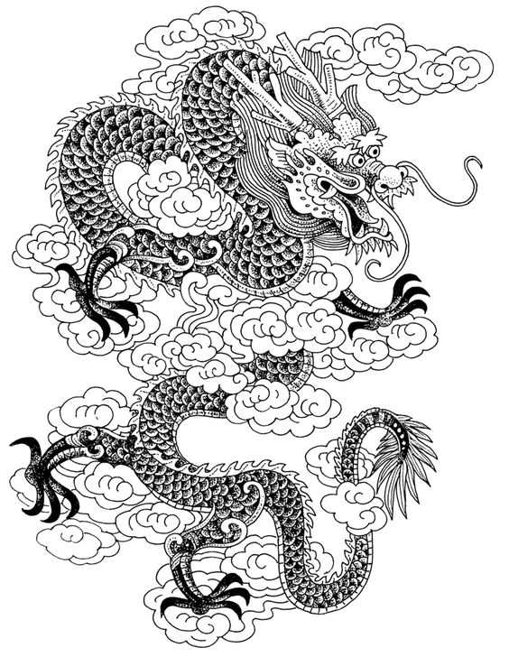 Pictures of chines drangons here is a china dragon picture Just - new coloring pages for rescue bots