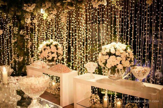 Luzes de decoração