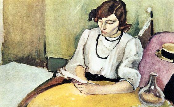 """""""Ritratto di Hermine David 2"""" (moglie americana dell'artista) di Jules Pascin (Bulgaria 1885 - 1930). Olio su tela, 1910"""