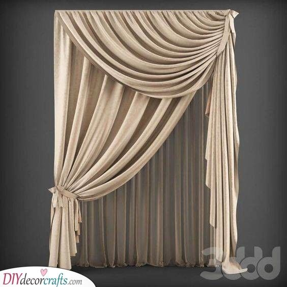 A Stylish Look Adding Luxury To Your Bedroom Elegant Curtains