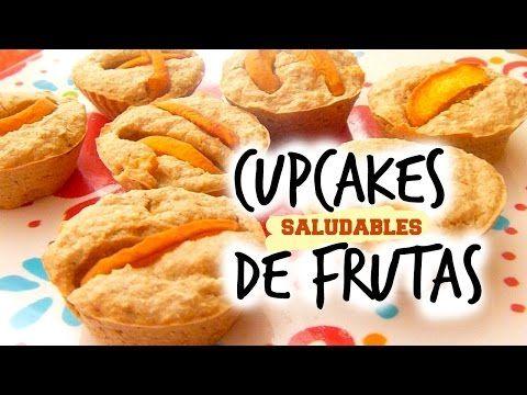 MUFFINS DE FRUTA - Desayuno fácil, saludable y vegano - YouTube