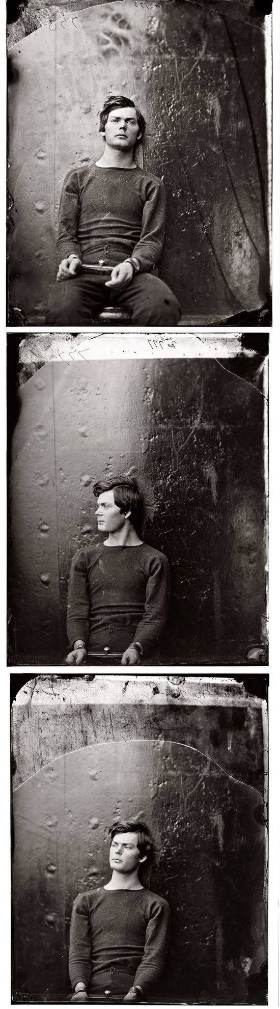 Lewis Powell - One Of The Suspects For Killing Abraham Lincoln. Short before getting executed.