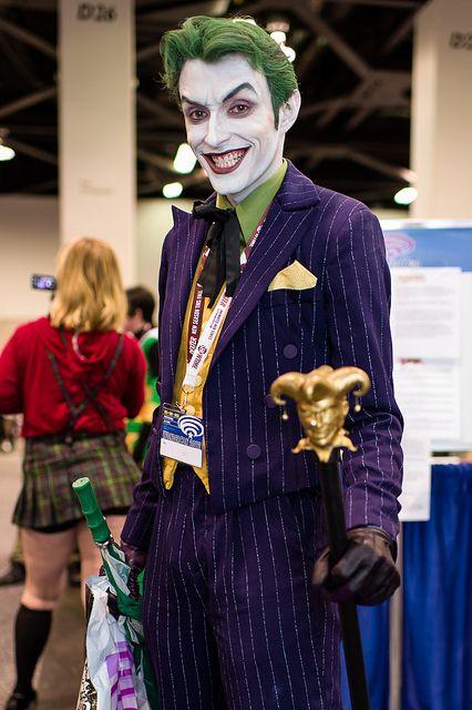 Joker Cosplay: