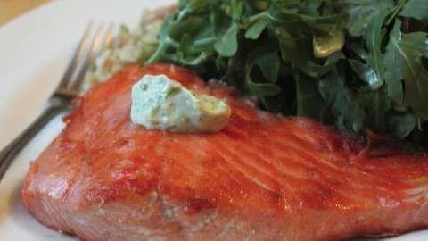 Simple Seared Salmon