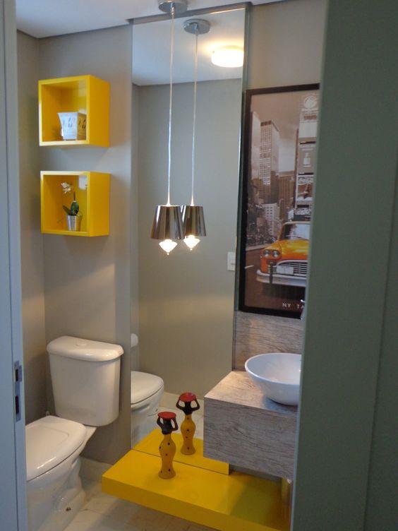 Noivos em Apuros: Sweet Home: Amarelo seu lindo #3 - Banheiro:
