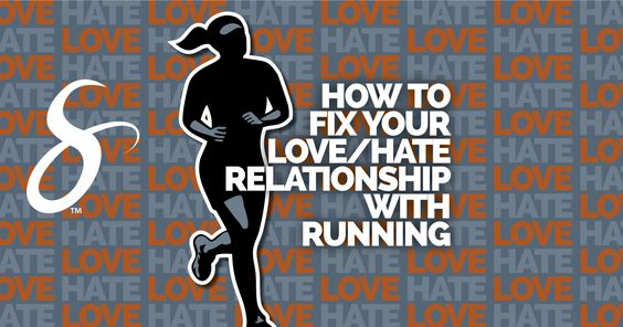 How to Fix Your Love/Hate Relationship with Running :http://sportportactive.com/fix-love-hate-running-exercise/