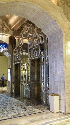 MGM Vip Lift lobby