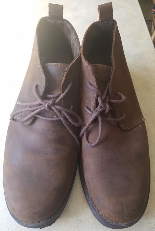 Men's TARGET Size 11 Brown Leather
