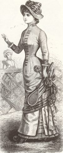 Tennis costyme1881 - 1880s in Western fashion - Wikipedia, the free encyclopedia