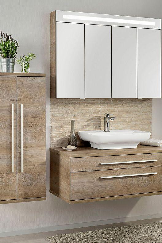 Fackelmann Spiegelschrank Twindy Breite 110 Cm 4 Turen Bestellen Baur Spiegelschrank Badezimmereinrichtung Unterschrank