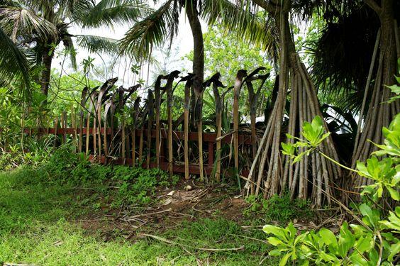 Valla jardín tropical