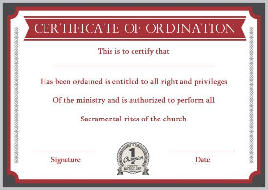 Pin On Ordination