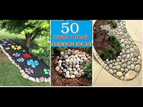 Top 50 River Stone Rock Garden Ideas 2020 Front Yard Landscaping Designs With Rocks 2020 Front Yard Landscaping Design Rock Garden Landscaping With Rocks