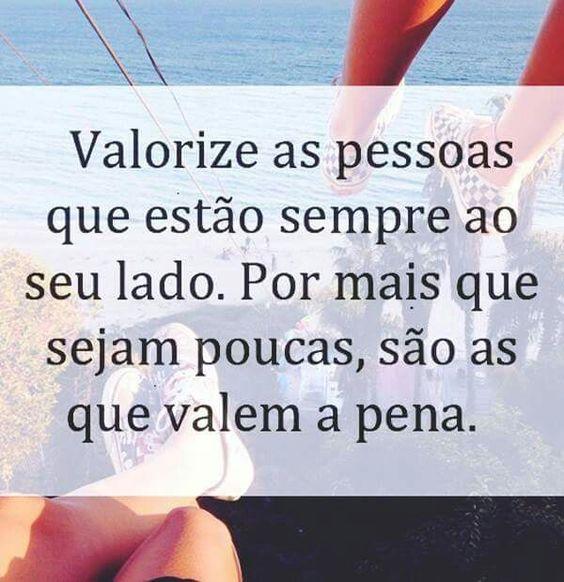 Valorize as pessoas...