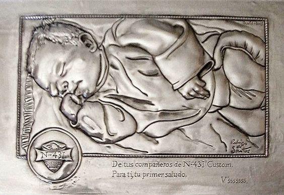 ArteyMetal: Retrato de Bebé