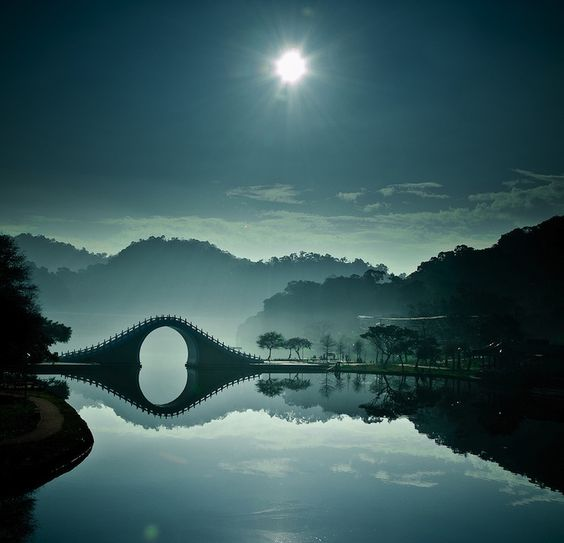 Moon bridge, Taiwan