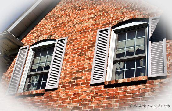 Offset Wood Clad Aluminum Double Hung windows. Aluminum flashing finish.