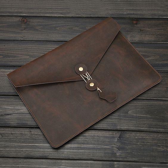Echte Leder Schutztasche für Apple Tablet/Mac book/Laptop