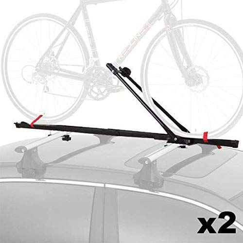 New Cyclingdeal 1 Bike Car Roof Carrier Rack Bicycle Racks With