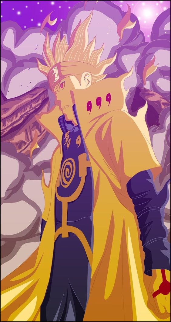 Naruto 631 Minato Bijuu Mode By Cobletking Naruto Uzumaki Art Naruto Sasuke Sakura Wallpaper Naruto Shippuden