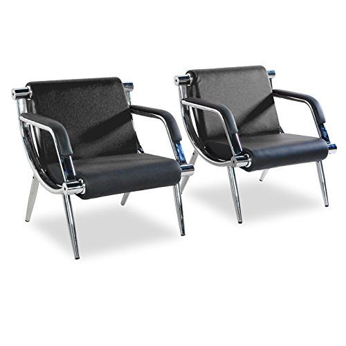 Phenomenal Bestmart Inc Black Leather Executive Side Reception Chair Pdpeps Interior Chair Design Pdpepsorg