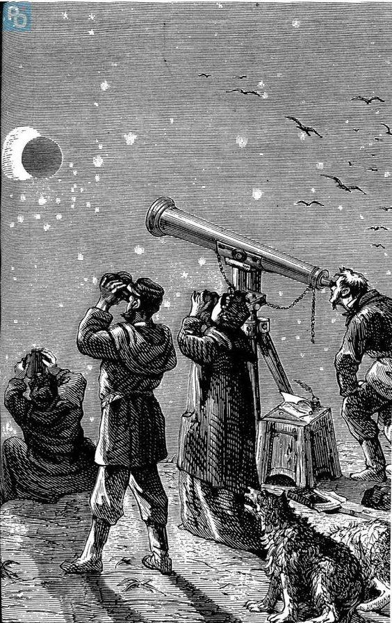 Nantes. L'éclipse de 1860 décrite par Jules Verne   Presse Océan #Espace #Astronomy⎜Astronomie