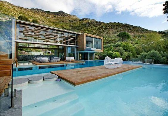 101 Bilder von Pool im Garten - bilder pool garden schwimmbecken - gartengestaltung reihenhaus pool