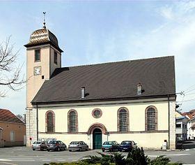 Temple luthérien de Bethoncourt