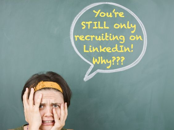 You're still only recruiting on LinkedIn! Why??? by Winning Impression - Social Media in Recruitment - Training and Consultancy via slideshare