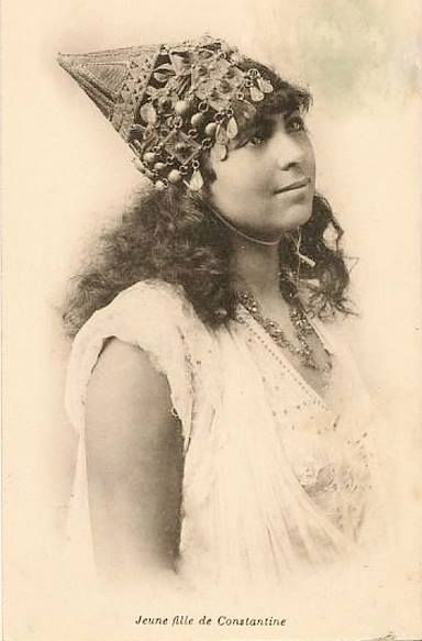 jeune fille de Constantine - Algérie
