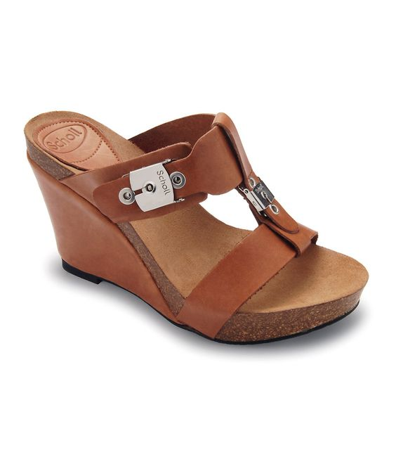 Brown Esart Wedge on zulily today!