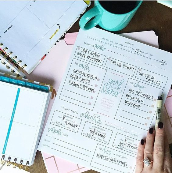Etsy Day Planner Pad
