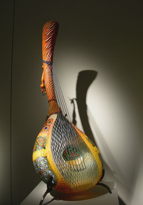 david salvadore art glass | Chitamarra , blown glass, 35″ x 14″ x 14″