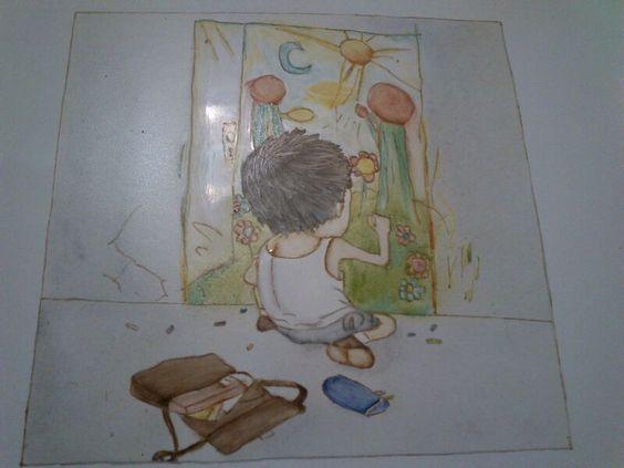 Plato Pintando sueños