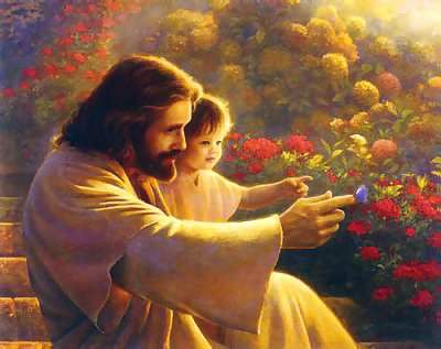 I can't wait for the day when Jesus holds me like the precious jewel he had always thought me be!: