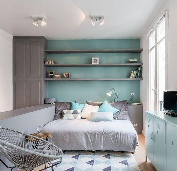 10 studios ultra d co et fonctionnels style studios and tiny spaces - Deco chambre petit espace ...