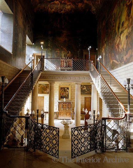 Burghley House賓利家(傲慢與偏見),最著名的是天界廳(Heaven Room)與地獄梯(Hell…
