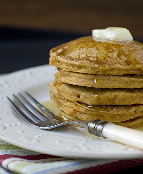 sweet potato pancakes....sound yummy!