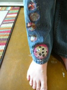 patches idea from Sewn by Hang