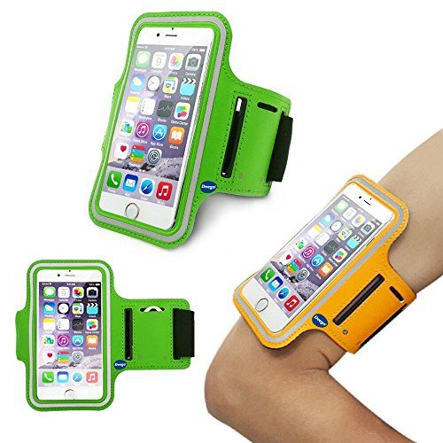iPhone6 Plus Sports Armband, Nancy's shop Easy Fitting Sports Universal Armband With Build In Screen Protect Case Cover Running band Stylish Reflective Walking Exercise Mount Sports Sports Rain-proof Universal Armband Case+ Key Holder Slot for Iphone 6