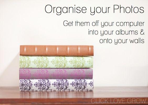 Organiza tu fotos un