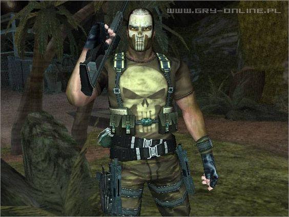The Punisher Windows game Screenshot
