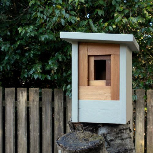Twig & Timber makes some of the most lovely modern birdhouses.