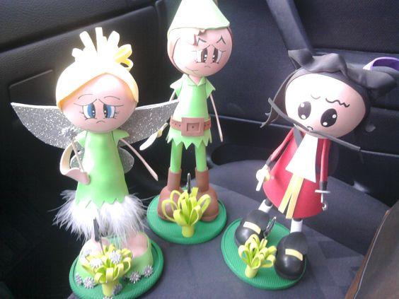 Peter Pan, Sininho e Capitão