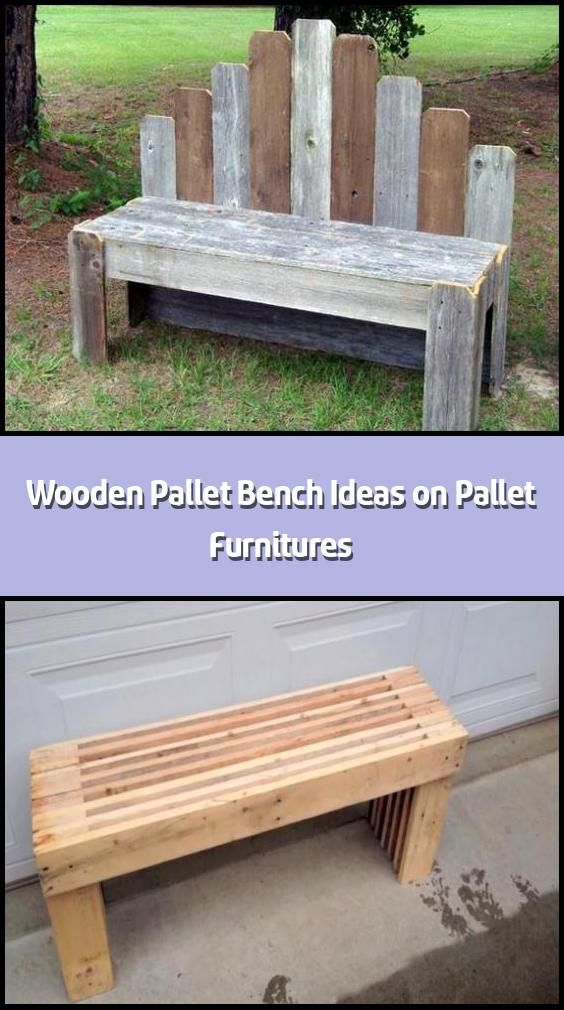 Wooden Pallet Bench Ideas On Pallet Furnitures A Very Common And Regular Used Furniture Item Wooden Pall In 2020 Pallet Bench Wooden Pallets Pallet Garden Benches