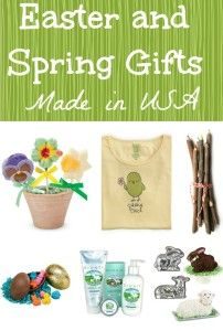 Easter and Spring Gifts Made in USA
