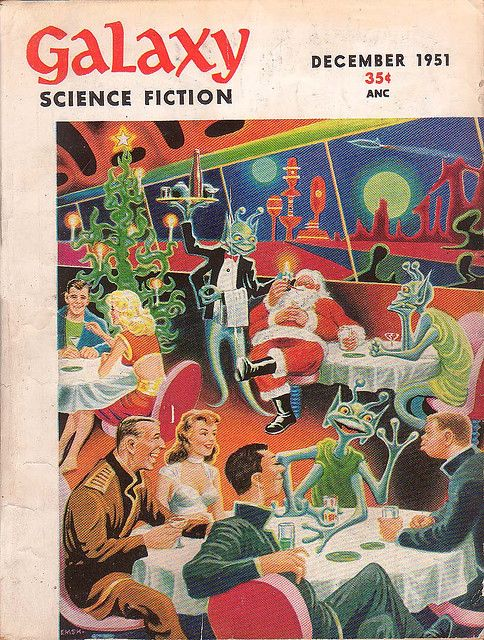 Image result for christmas party science fiction