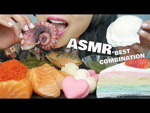 Asmr Best Combination Crepe Cake Mochi Macaron Sashimi Seagrapes Octopus No Talking Sas Asmr Youtube Asmr Crepe Cake Mochi 3,468 likes · 9 talking about this. no talking sas asmr youtube asmr