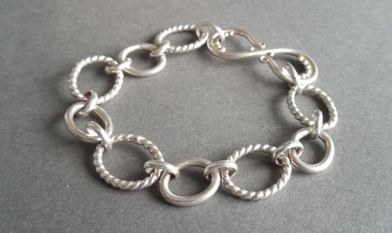 Handmade Chain Bracelet with Arabesque by SMarieAccessories